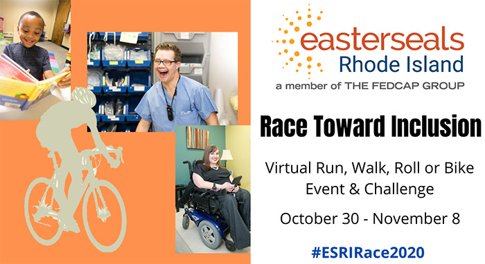 Easterseals Rhode Island is pleased to participate in the 2020 Race Toward Inclusion