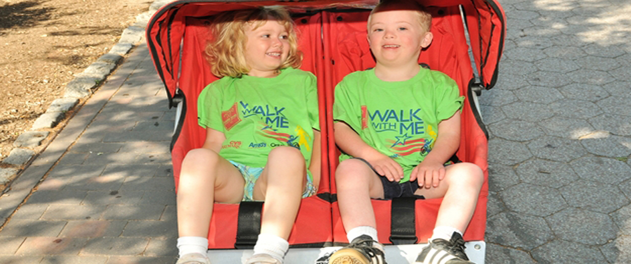 The Walk With Me is an amazing event held that lets the amazing children we serve shine!