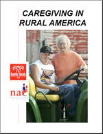Cover image of the Caregiving in Rural America report