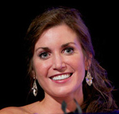 Abby Curran, former Miss Iowa and the first woman with a disability to compete in the Miss USA Pageant®