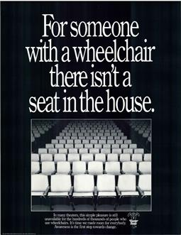 ADA 1990 poster movie theater