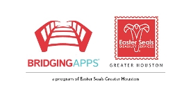 BridgingApps and Easter Seals Greater Houston logo