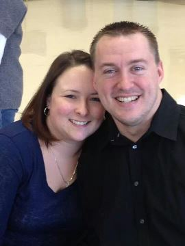 Chad Cunningham and Fiance Kindra