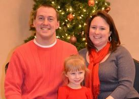 Chad Cunningham, Fiance Kindra and Stepdaughter Lyvia