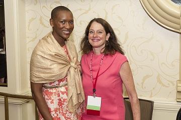 Claudia Gordon and Katy Neas at 2014 Advocacy Summit