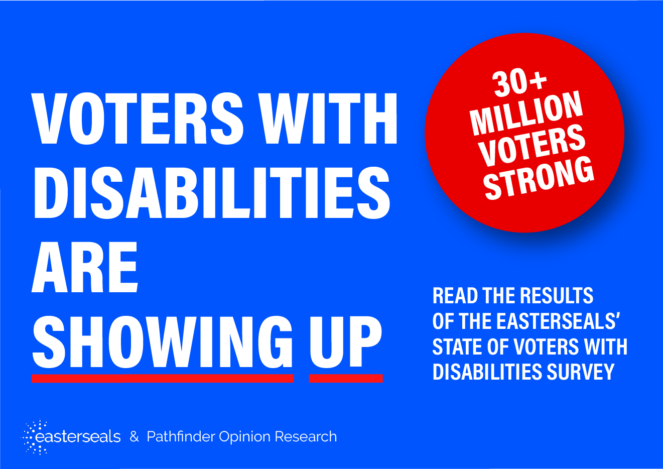 Voters with Disabilities are Showing Up