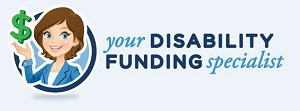 This is a graphic for  The Funding Guide for Children with Disabilities by Tamara Simmons