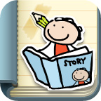 Kid in Story Bookmaker app icon