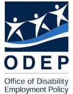 Logo for the Office of Disability Employment