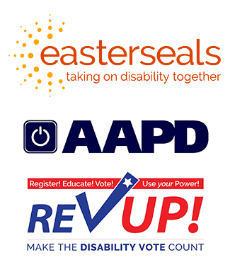 RevUP logo and Easterseals logo