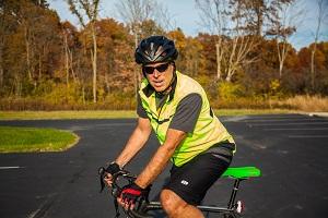 Scott Rider on a bike