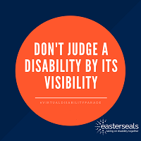 Don't judge a disability by its visibility