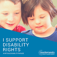 I support disability rights