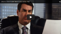 "Screenshot of the ""What to Wear"" PSA video featuring Rob Riggle"