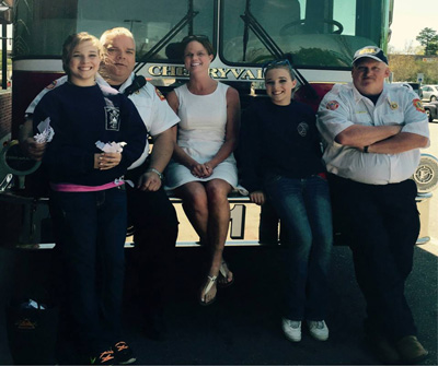 Donors with Firefighters
