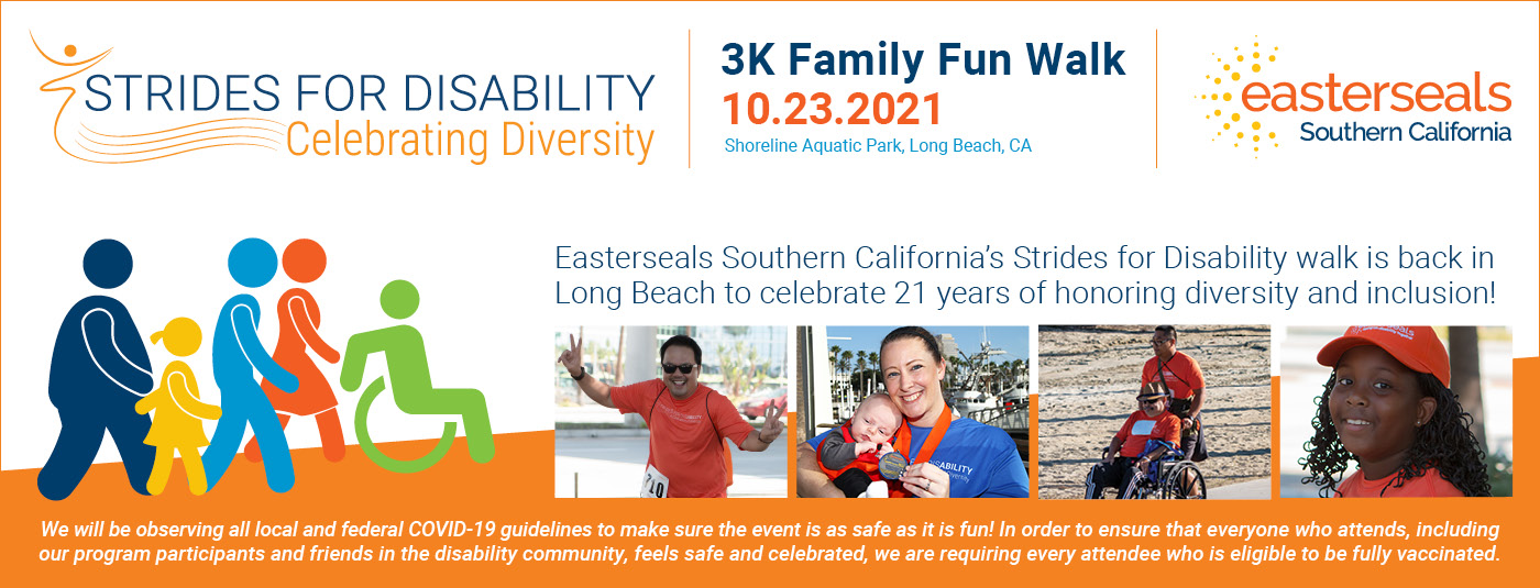 2021 Strides for Disability Home Page Banner