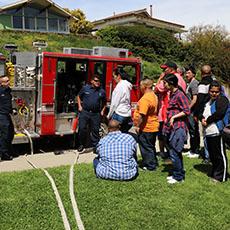 Adult Day Services San Pedro Firestation visit