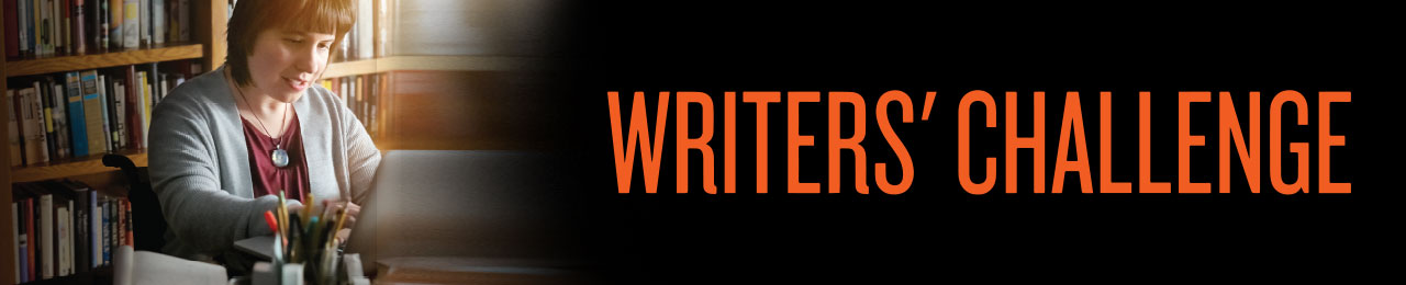 Writers Challenge Page Banner