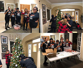 Century 21 Christmas tree Decorated by Easterseals Participants and Century 21 Associates