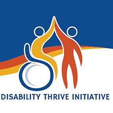 Disability Thrive Initiative Logo Spotlight Graphic 230x230