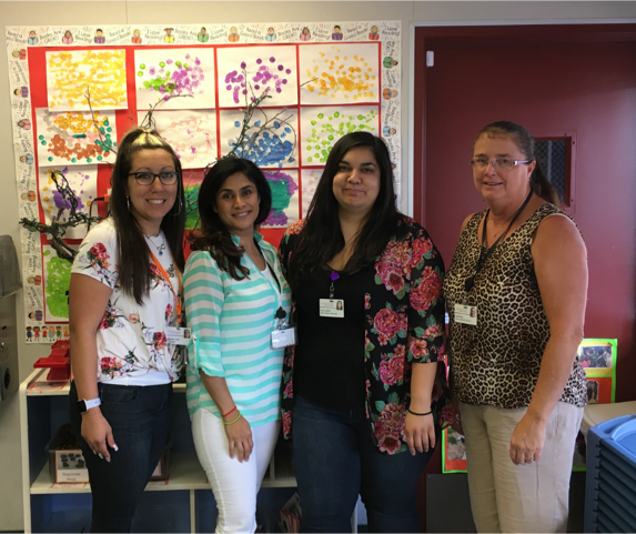 Early Childhood Educators from the Child Development Center (CDC) in Ontario