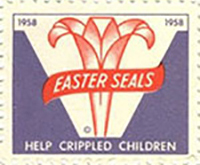 Stamp from Easterseals History