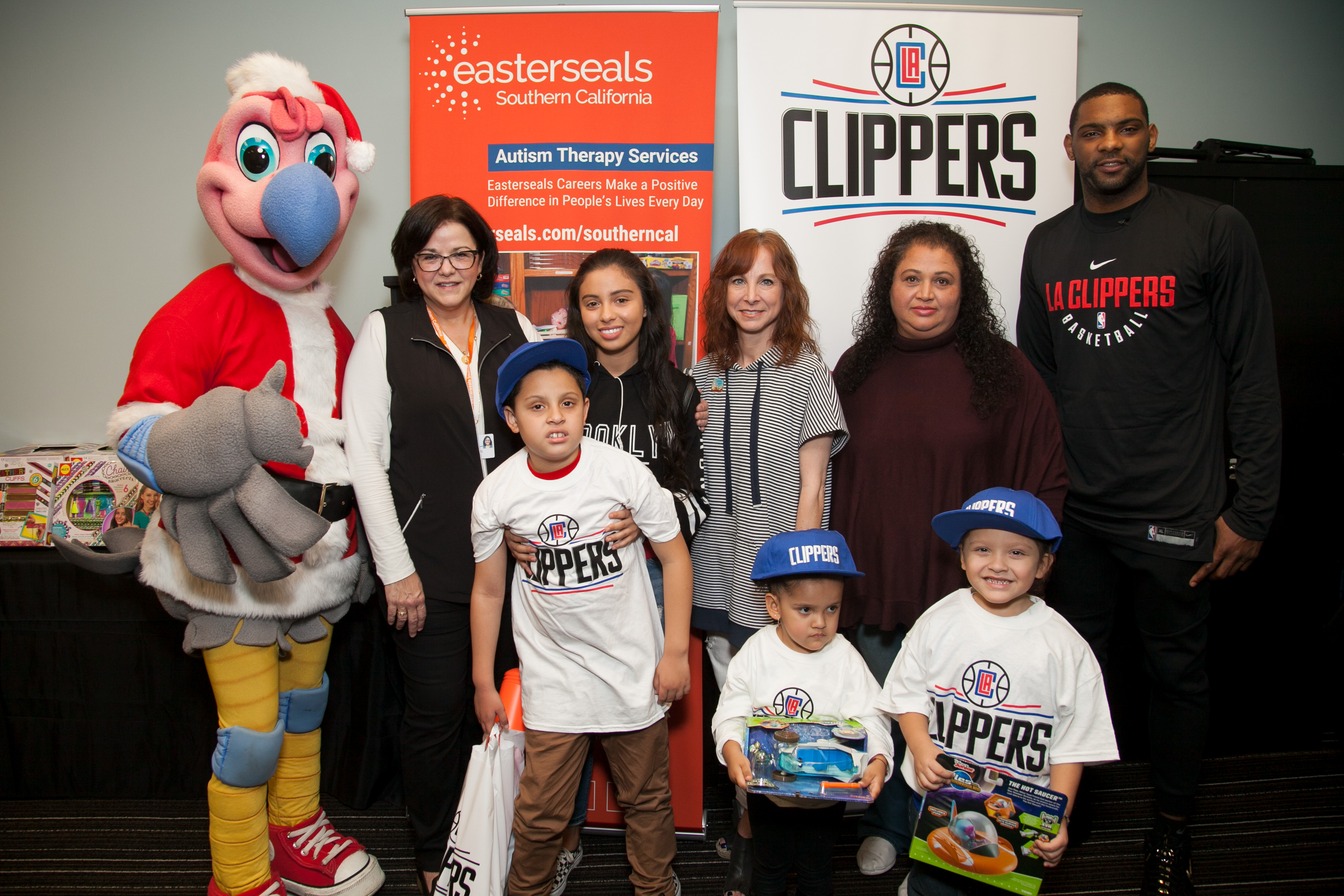 LA Clippers Partnership Group Photo