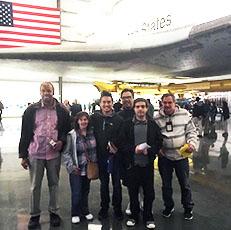 Peer-to-Peer Space Shuttle Visit