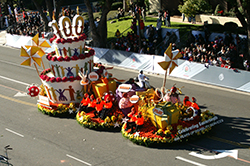 Photo of the Easterseals float in the 2019 Rose Parade