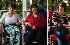 The story of Alycia, Janna and Dori - three sisters
