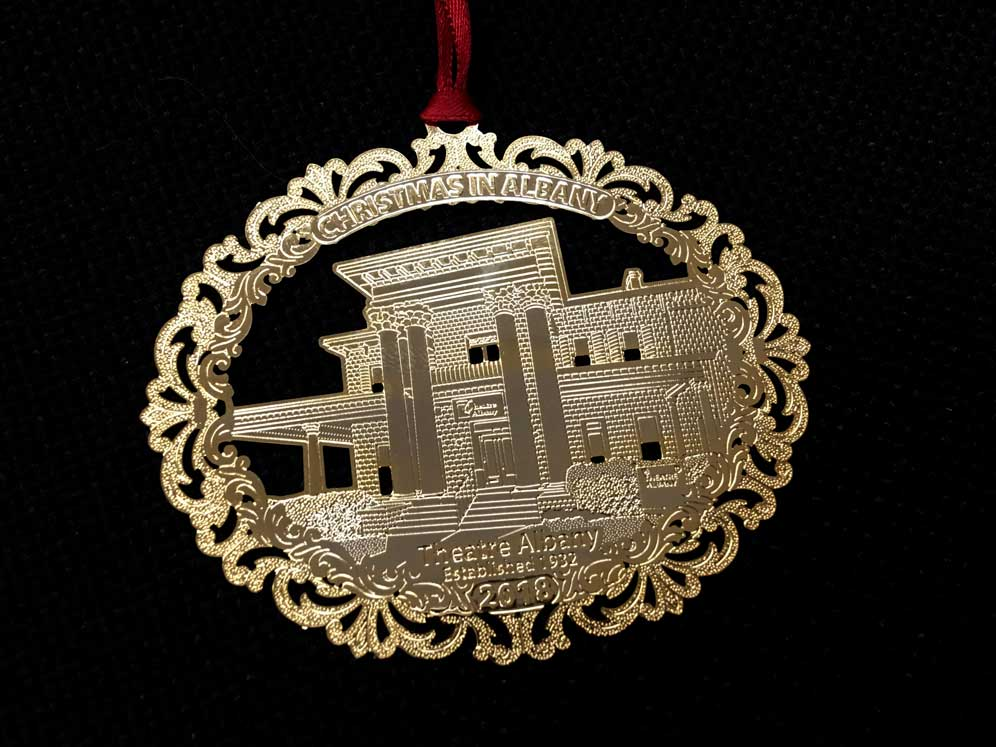 2018 City of Albany Christmas Ornament