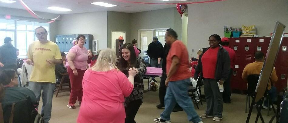 Community Center dancing