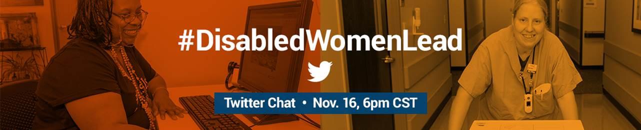 #DisabledWomenLead Twitter Chat