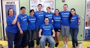 Boeing Volunteers