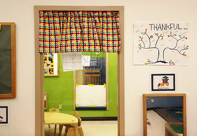 Growing Years Curtain Toddler Room