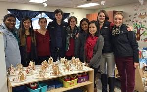 Pacific NW University Pediatrics Club Group Volunteers