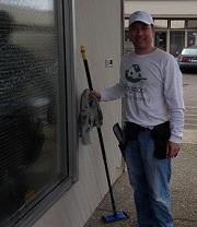 Ridgetop Window Cleaning Volunteer