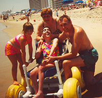 Mark's sister, Mary Beth, enjoyed several summers at Easterseals camp.