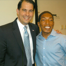 Gov. Walker and Sidney